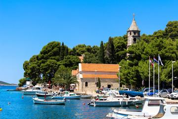 Cavtat Old Town, Croatia, Adriatic Sea
