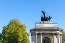 The Wellington Arch At Hyde Pa...