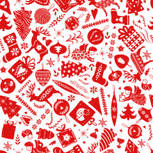 Simple Seamless Pattern With A...