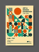 Abstract Poster Design Template