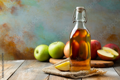 Apple vinegar Poster Mural XXL