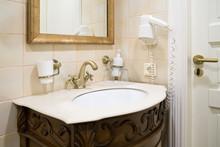 Retro Faucet In Bronze In The ...