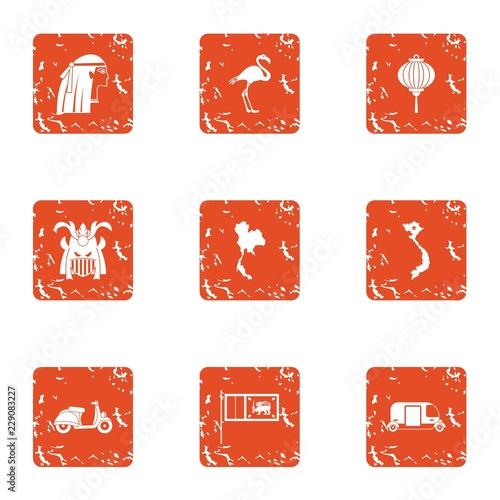 Photo Respite icons set