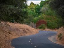 Natoma Canyon Bike Trail In Fall