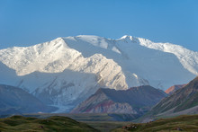 Mount Lenin Seen From Basecamp...