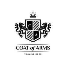 Coat Of Arms Heraldic Luxury L...