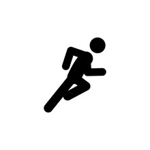 Dash, Fast, Run Icon. Element Of Walking And Running People Icon For Mobile Concept And Web Apps. Detailed Dash, Fast, Run Icon Can Be Used For Web And Mobile