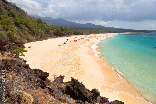 Obraz na plátně Makena Beach, Maui, Hawaii