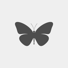 Butterfly Vector Silhouette. I...