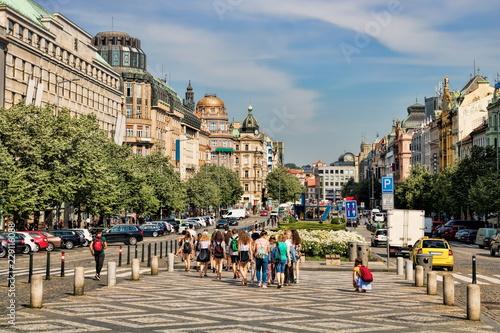 Prag, Wenzelsplatz