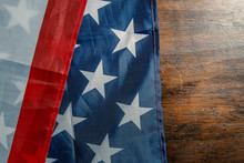United States Of America Flag Abstract Background.
