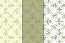 Snowflakes. Seamless Patterns....
