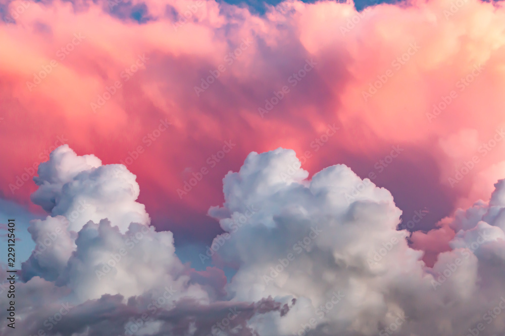 Fototapety, obrazy: clouds at sunset