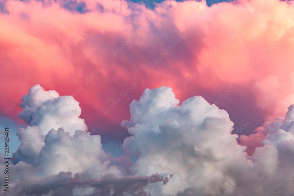 Leinwandbild Motiv - studybos : clouds at sunset