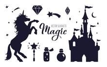 Fairy Tale Vector Silhouette C...