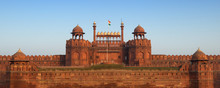 Famous Red Fort In Delhi - India