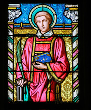 Stained Glass - Saint Lawrence...