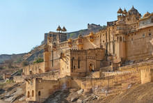 Famous Amer Fort In Jaipur - Rajasthan , India