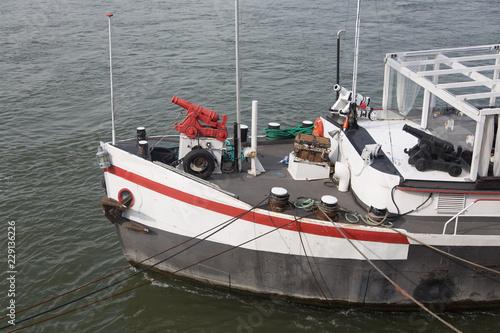 Staande foto Zeilen fishing boats in harbor