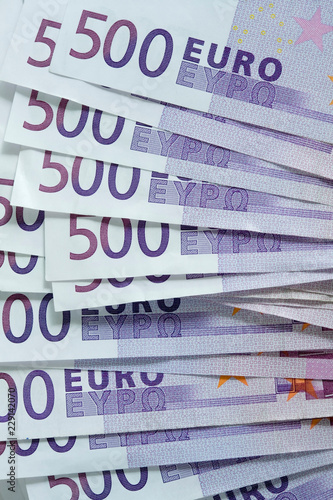 Fotografering  500 euro notes
