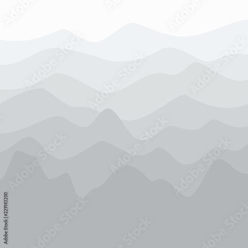 sylwetka-gor-na-wschod-poranny-widok-gorski-szczyty-i-granie-w-odcieniach-szarosci-podrozy-i-turystyki-koncepcja-ilustracji-wektorowych
