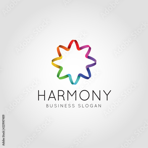 Fotografía  Abstract Color Harmony logo