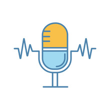 Speech Recognition Color Icon