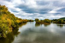Autumn Foilage At The Susquehanna River