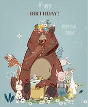 Birthday Cute Animals
