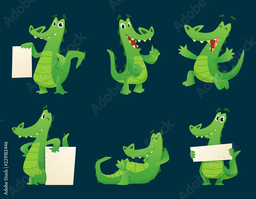 Foto Alligator characters