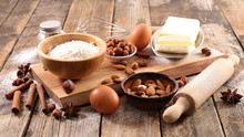 Baking Ingredient For Cooking Biscuit