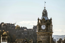 The Clock Tower  Of The Balmor...