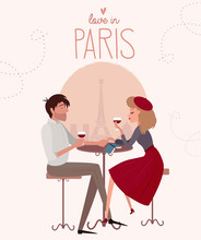 Love Story In Paris With A Lov...