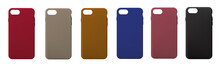 A Set Of Covers On The Phone. Vector