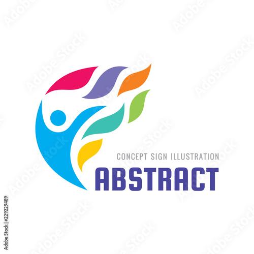 Development Concept Logo Template Vector Illustration