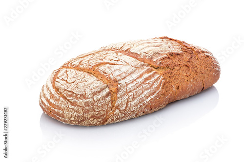 Fotografie, Obraz  Brot aus Roggen und Weizen