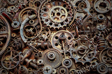 Steampunk Texture, Backgroung ...