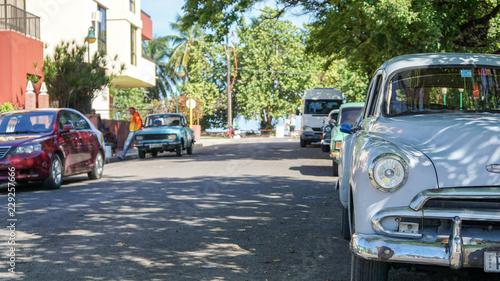 Türaufkleber Autos aus Kuba Kuba, Varadero - Sommer Landschaft