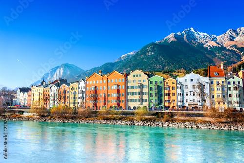 Foto auf Gartenposter Europäische Regionen Innsbruck cityscape, Austria