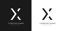 X Logo Letter Design