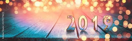 Photographie  Frohes neues Jahr 2019!