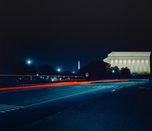 Washington D.C. Monuments At Night
