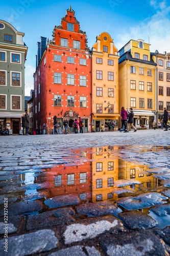 Gamla Stan, Stockholm, Sweden Canvas-taulu