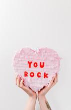Cute Pastel Paper Party Heart ...
