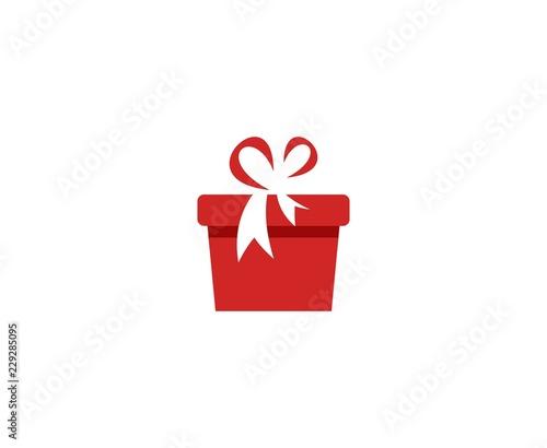 Leinwand Poster Gift logo