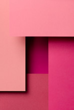 Pink Color Paper Designs