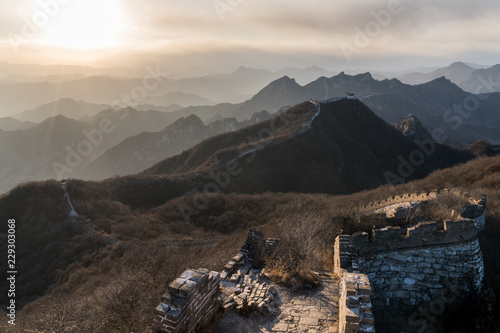The Wild Great Wall of China at Jiankou
