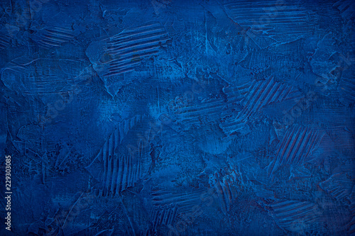Photo Abstract blue background