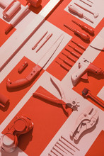 Hardware/Tool Kit Composition.