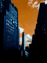 Dramatic False Color View From Downtown NYC